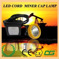 Best 15000lux Waterproof LED Mining Light ATEX Portable , 6.5Ah Miners Helmet wholesale