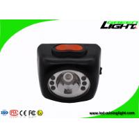 Buy cheap 8000lux brightness and explosion-proof black cordless mining cap light from wholesalers