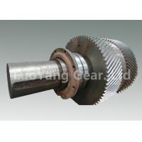 Best Large Size Machining Transmission Input Shaft / Steel Worm Wheel Shaft wholesale