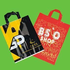 China Luxury Printed Plastic Bag on sale