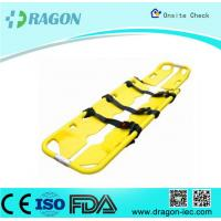 Best Seperatable Yellow Emergency PE Foldable Stretcher Scoop for Transfer Patients wholesale