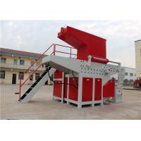 Best Multifuction Tire Waste Single Shaft Shredder Motor Power 22 Kw Auto Reverse Switch wholesale