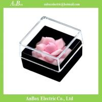 Best 16*16*1cm Poly Styrene Transparent Plastic Box With Cover wholesale