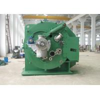 Buy cheap Small solid remove vacuum green color centrifugal solid liquid separator from wholesalers