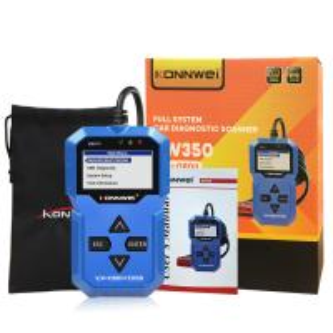 Best KW350 Konnwei Full System Diagnostic Scanner Auto Scanner Tool Center Lock Type wholesale
