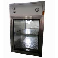 Best Electronic Interlocking Air Shower Pass Box / Pharmaceutical Cleanroom HEPA Filtered Pass Through wholesale