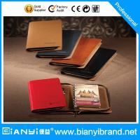 Best Journal daily leather cover loose leaf notebook wholesale