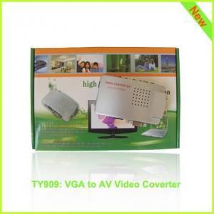Best TY909: VGA to AV video hdmi converter, PC to TV hdmi video converter wholesale