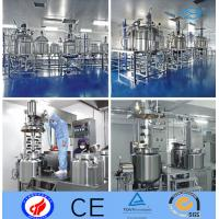 Pressure Stainless Steel Agitator Stainless Steel  Mixing Tank Oil Olive