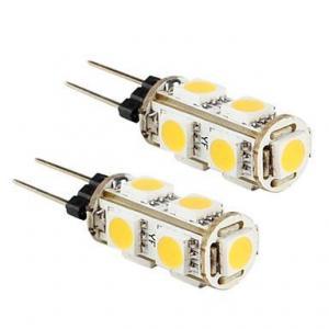 Best Warm White 1.3W 5050 9pcs SMD LED Spotlight G4 , 12V LED Spot Light wholesale