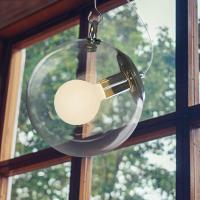 Best Gallery Glass Ball pendant lamp for indoor home Kitchen Dining room Hanging light (WH-GP-10) wholesale