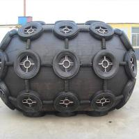 Best 50KPA Yokohama Black And White Pneumatic Rubber Marine Fender Foam Filled Fender Use On Ship wholesale