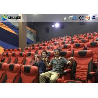 Best Electrical / Hydraulic4D Movie Theater Equipment For Action Movies 4 seats - 100 seats wholesale