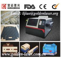 Best Continuous laser cutting pneumatic embossing box machine wholesale