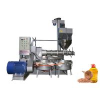 China Easy Control Cold Oil Making Industrial Oil Press Machine 180 - 300 Kg/H Capacity on sale