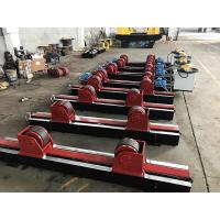 China Lead Screw Adjustment Tank Turning Rolls , Digital Speed Display Pipe Welding Stands on sale