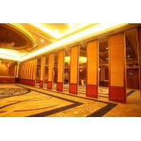 China Hanging System Acoustic Room Dividers for Hotel with Single or double roller on sale
