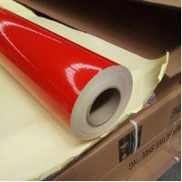 Best Mylar Reflective Banner Vinyl Film With Permanent Acrylic Adhesive Waterproof wholesale