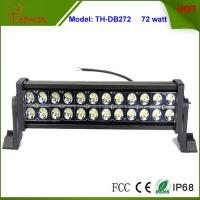Best High Quality Waterproof 72w Double Stack LED Light Bar for Automotive Truck LED Headlight wholesale