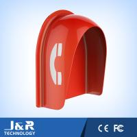 Best Fiberglass Reinforced Polyester Acoustic Phone Booth Pillar Dust Proof For Streets wholesale