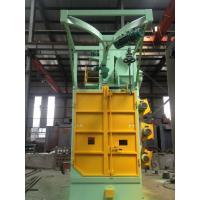 Best Overhead Rail Hook Shot Blasting Machine High Efficiency For Oil Tank Propane Tank wholesale