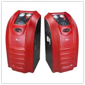 China Basic Modle Auto AC Recovery Machine Manual Mini Tank Gas Refill R134a on sale