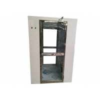 Best Fully Transparent Door Air Shower Tunnel / Air Shower Room With CE Certification wholesale