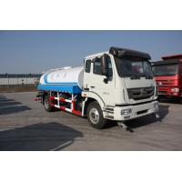 Best 6 Wheels Water Tank Truck 10 Cbm Capacity Euro II Engine For Cleaning wholesale