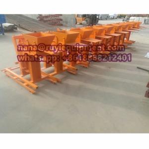 China clay brick machine manual interlock brick machine brick making machine on sale