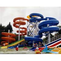 Best Commercial Water Park Equipments 15m Lake Water Pool Slides for Hotels wholesale