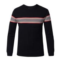 Best Flat Knitted Mens Warm Winter Sweaters , Round Collar Pullover Sweaters For Men wholesale