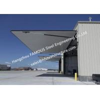 China Strap Lift One Piece Door Tip Up Canopy Hydraulic Folding Doors Ideal For Aircraft Buildings on sale