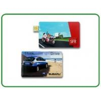 Best USB Version 2.0 USB-HDD 128GB Credit Card USB Stick With Customised Logo  wholesale