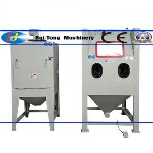 Best Steel / Aluminum Products Industrial Sandblast Cabinet 220V 13W Lighting Inside Chamber wholesale