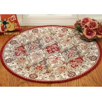 Best Living Room Persian Rug Modern Design , Round Persian Carpet Dry Quickly wholesale