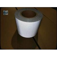 Best Sign High Intensity Reflective Sheeting , White Reflective Film Plastic Backing 10CM X 45.7M wholesale