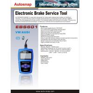 Best Autosnap EBS601 Electronic Brake Service Tool wholesale