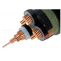 Best 8.7KV 15kV XLPE Insulated Power Cable , Three Core Copper Conductor Cable wholesale