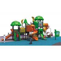 China Outdoor Playground Equipment For Parks, kids Outdoor Playground For Plastic on sale
