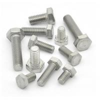 China High Precision Galvanized Hex Bolts Anti Corrosion Hardware Accessories on sale