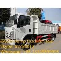 Best ISUZU 4*2 6-8ton dump truck for sale wholesale