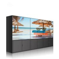 China Panel Mount 4k Video Screen , 3x3 Video Wall With Led Backlit Technology on sale