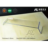 China Clean Room Clear Acrylic Plexiglass Sheet 1mm Thick , Pass Thermal Shock Test on sale