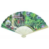 Bamboo Paper Fans For Promotion , Gifts