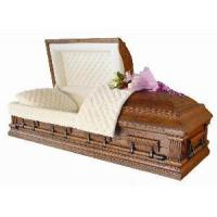 Buy cheap American Style Solid Wood Casket (A018) from wholesalers