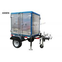 China Fully mobile type transformer oil treatment machine,trailer transformer oil recycling plant on sale