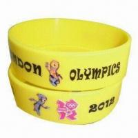 Best Popular Promotional Silicone Energy Bracelet with Anti-dust and -aging Features wholesale