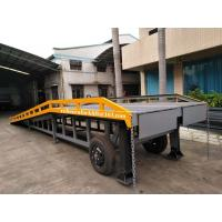 China Movable Container Yard Ramp 6 Ton Capacity Blue Red Green Yellow Appearance on sale