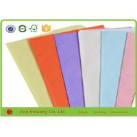 Best Standard MG Bulk Colored Tissue Paper Solid Color For Children English Book wholesale
