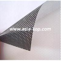 China one way vision film/ Perforated vinyl/ window film on sale